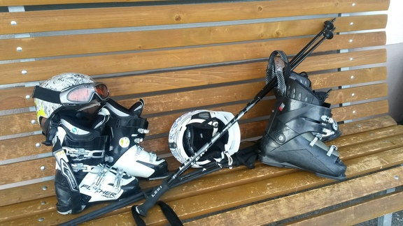 Wahl der Skischuhe