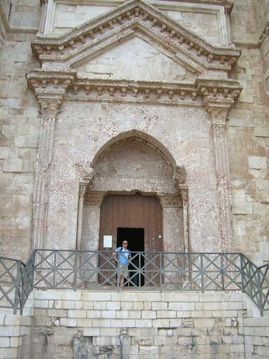 Eingangstreppe mit Portal