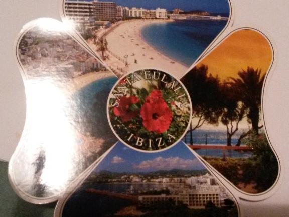 Postkarten-Kleeblatt
