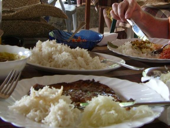 Curry auf den Seychellen