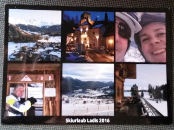 Postkarte mit persönlicher Note