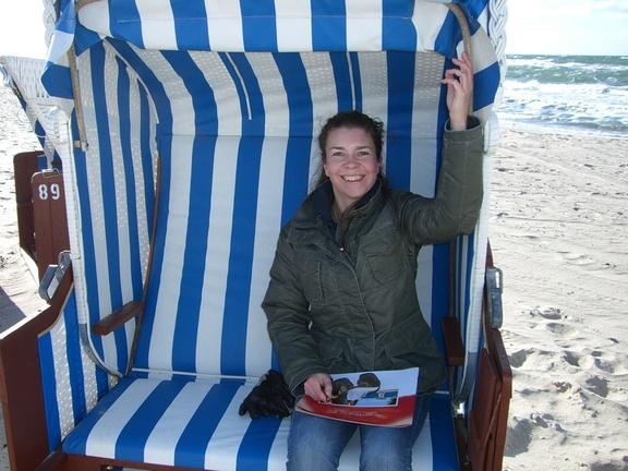 am Strand von Dierhagen