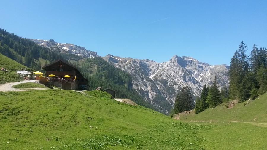 Bärenbadalm im Karwendelgebirge