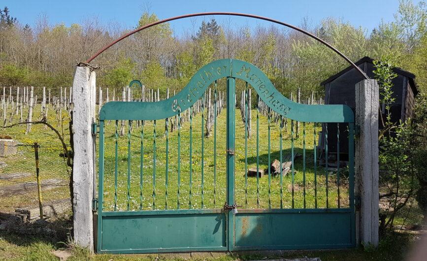 Eingang zum Weinberg