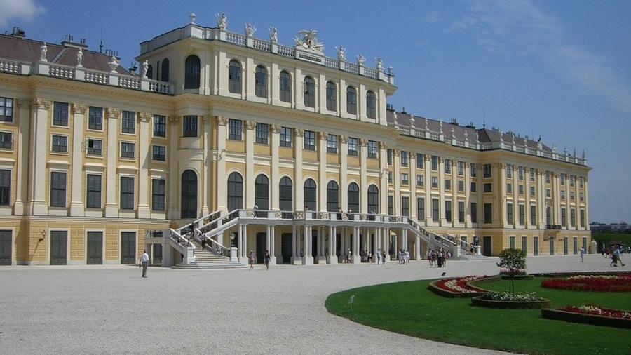 das prachtvolle Schloss Schönbrunn