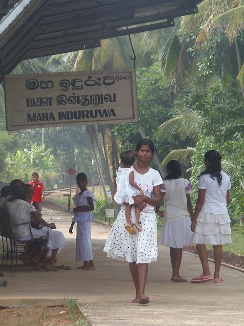 Einheimische Frauen in Sri Lanka