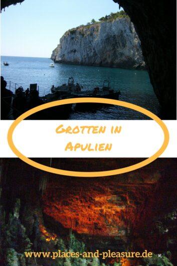 Grotte di Castellana und Grotta Zinzulusa in Apulien