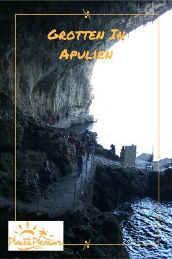 Zugang zur Grotta Zinzulusa