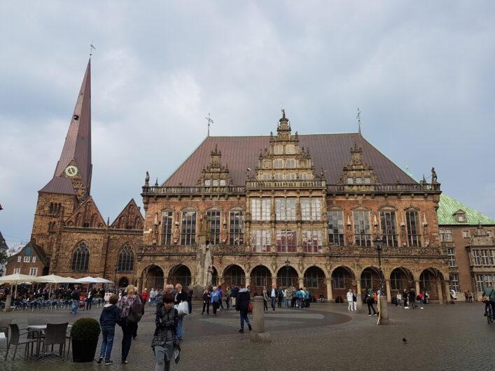historisches Rathaus von Bremen