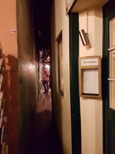 schmale Gasse im Bremer Schnoorviertel