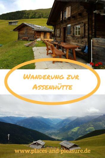 Die Wanderung zur Assenhütte im Hirzer-Gebiet bei Meran ist eine schöne Tour mit herrlichem Panoramablick auf die umliegende Bergwelt.