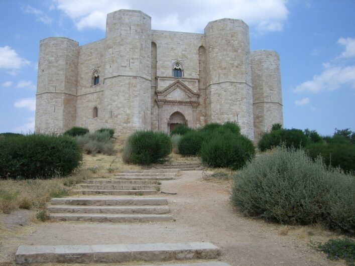Blick auf das Castel del Monte