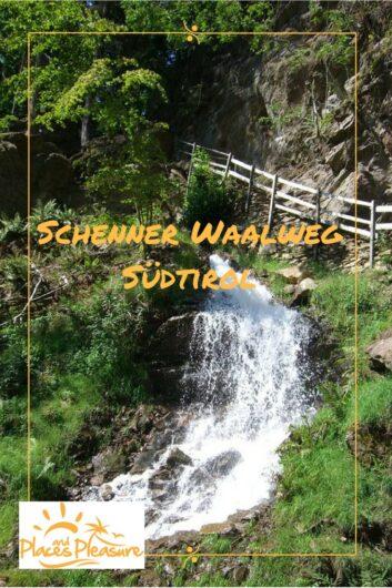 Der Schenner Waalweg von der Taser-Talstation bis St. Georgen: Lass dich mitnehmen auf eine leichte Wanderung für jede Jahreszeit.