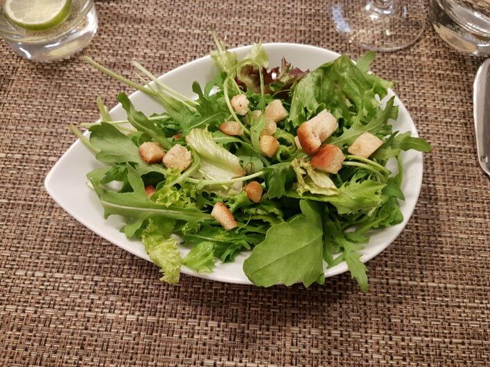 Salatbeilage zum Hauptgericht
