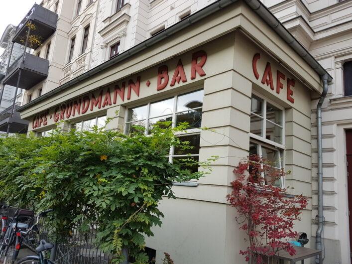 ein Blick auf das Café Grundmann in der Südvorstand von Leipzig