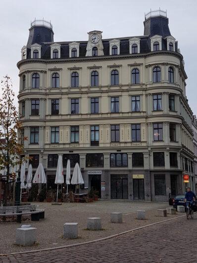 Gründerzeitfassade in der Südvorstadt von Leipzig