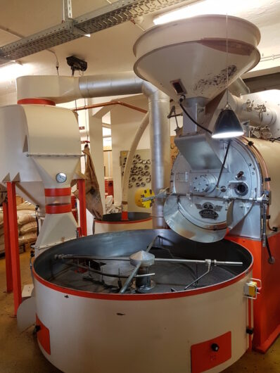 Röstmaschine bei Lloyd Caffee in Bremen