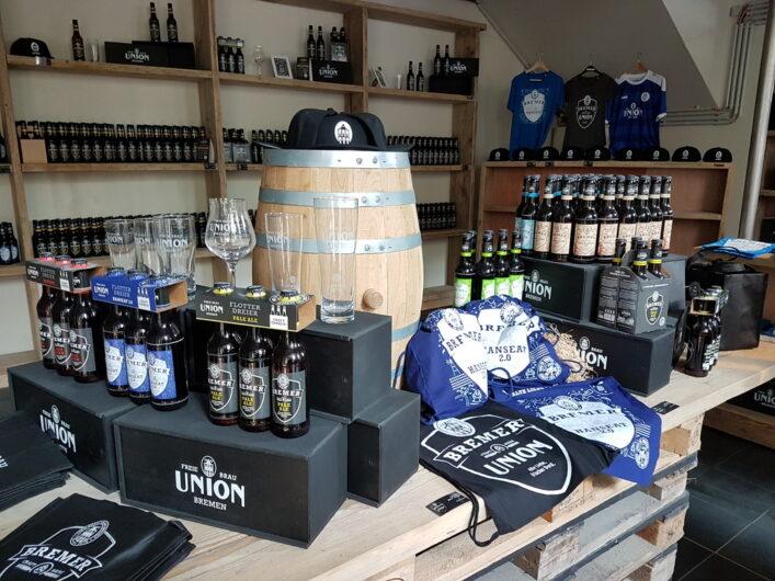 Shop der Union Brauerei
