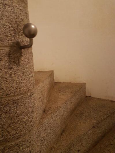 Wendeltreppe hinauf zur Aussichtsplattform des Völkerschlachtdenkmals