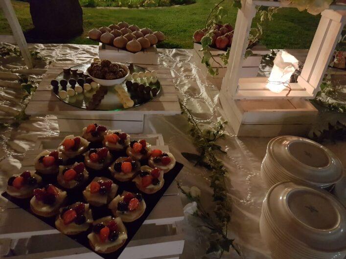 Dessertbuffet an Ferragosto