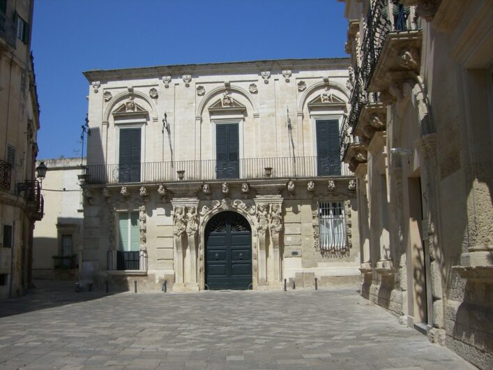 ein Palazzo in Lecce