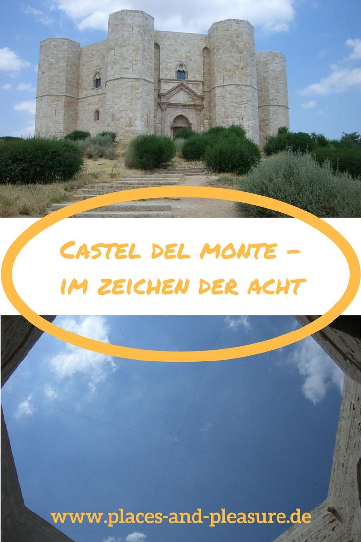 Nicht nur mystisch, sondern auch geschichtlich bedeutsam. Castel del Monte, das Bauwerk des Stauferkaisers Friedrich birgt bis heute viele Geheimnisse und ist ein lohnendes Ausflugsziel in der Nähe von Bari. #Apulien #Ausflugstipp #Italien #CastelDelMonte