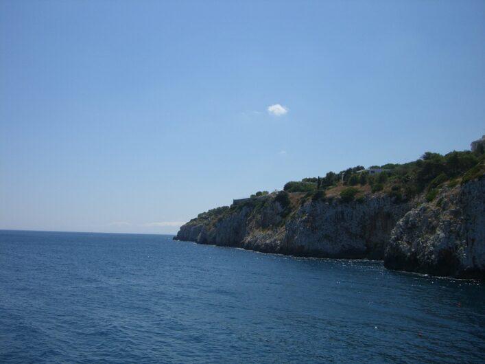 Steilküste zwischen Otranto und Santa Maria di Leuca