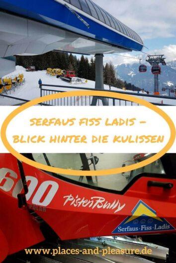 """(Werbung) Du wolltest schon immer wissen, wie der Seilbahnbetrieb im Skigebiet abläuft oder wie die künstliche Beschneiung funktioniert? Du findest die Pistenbullys gewaltig und würdest gerne einmal darin Platz nehmen? Dann ist im Skigebiet Serfaus Fiss Ladis der """"Blick hinter die Kulissen"""" genaus das Richtige für dich. #SerfausFissLadis #Tirol #weilwirsgenießen #BlickhinterdieKulissen #wearefamily"""