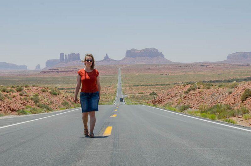 Synke unterwegs in Utah