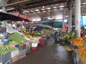 Souk mit Marktständen in Agadir
