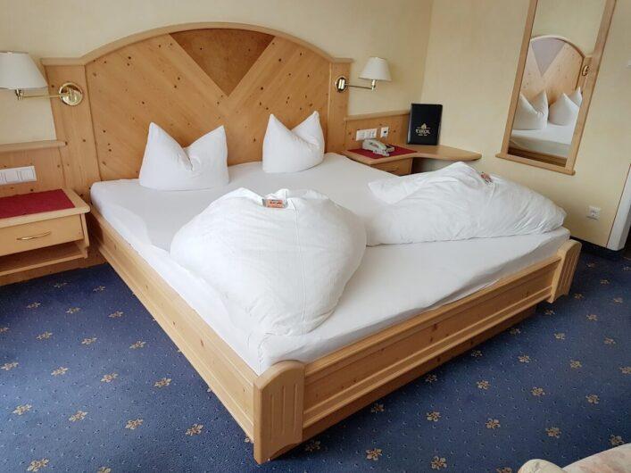 Komfort-Doppelzimmer im Hotel Tirol