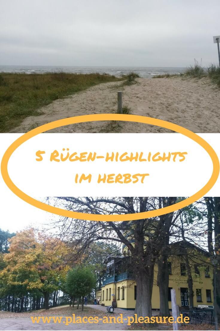 Rügen - sogenannte Badewanne der Berliner und zu jederzeit eine Reise wert. 5 Tipps für eine Herbstreise auf die Insel erfährst du hier. #Rügen #Reisen #Herbsturlaub #Ostsee