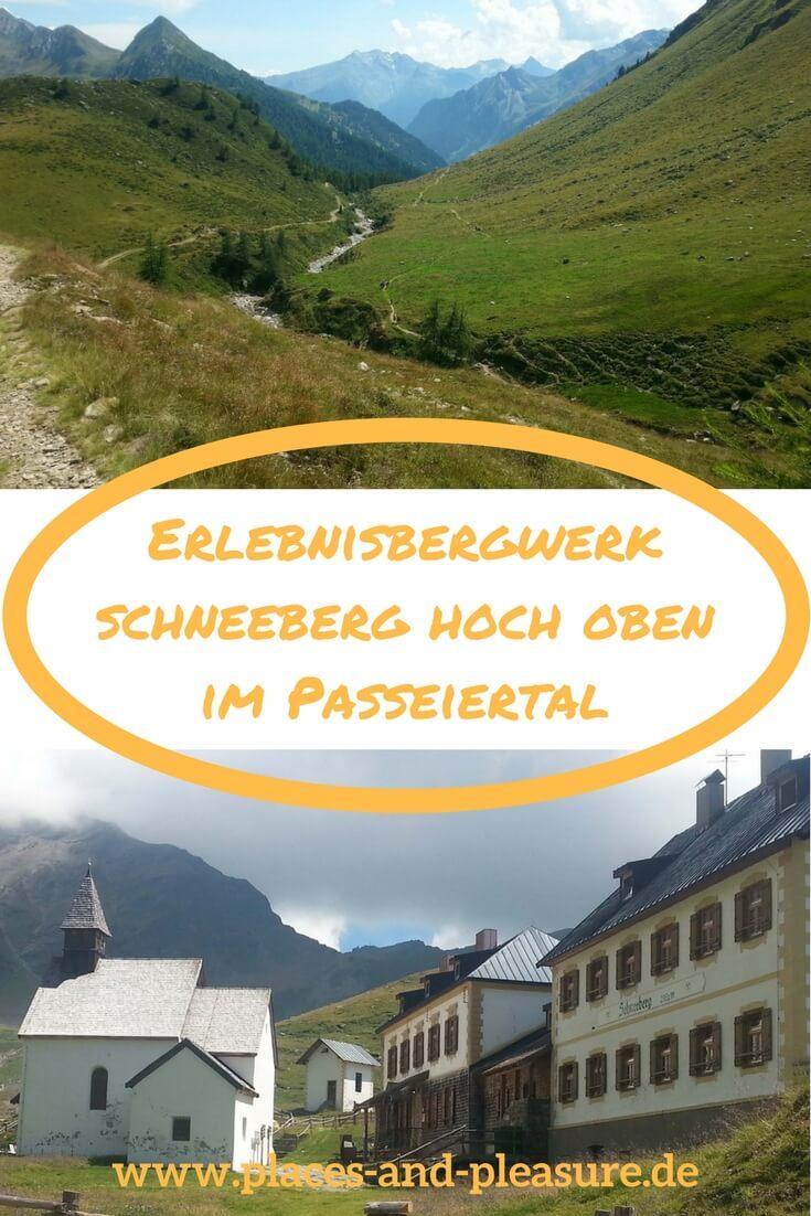 Wenn du ein außergewöhnliches Wanderziel im Passeiertal suchst, bist du im Erlebnisbergwerk Schneeberg richtig. Auf 2.355 m Höhe kannst du dort erkunden, wie die Knappen das Erz abbauten. Wer mehr wissen will, erfährt dies in geführten Besichtigungen. Und für die nötige Stärkung in der Wanderpause sorgt das Gasthaus auf dem Berg. #Südtirol #Passeiertal #Wandern #Wandertipp