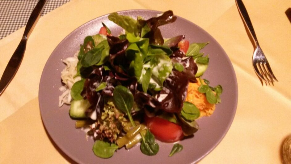 gemischter Salat im Rauthof