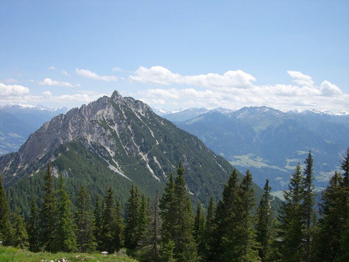 Bergkuppe am Rofan
