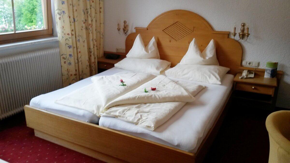 Doppelzimmer im Hotel Caroline in Pertisau