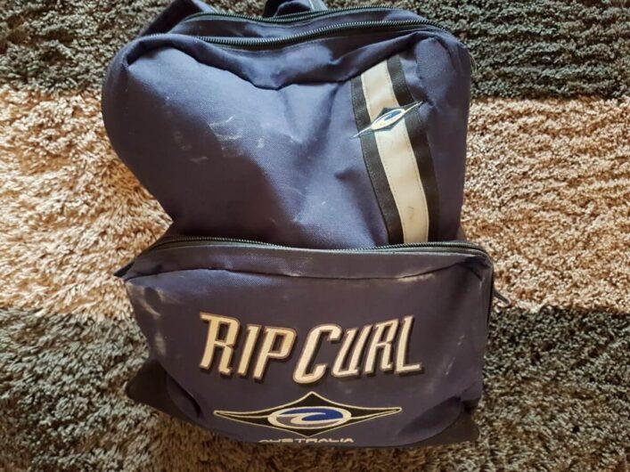kleiner Rucksack mit ausreichend Raum für die Ausrüstung einer Tageswanderung