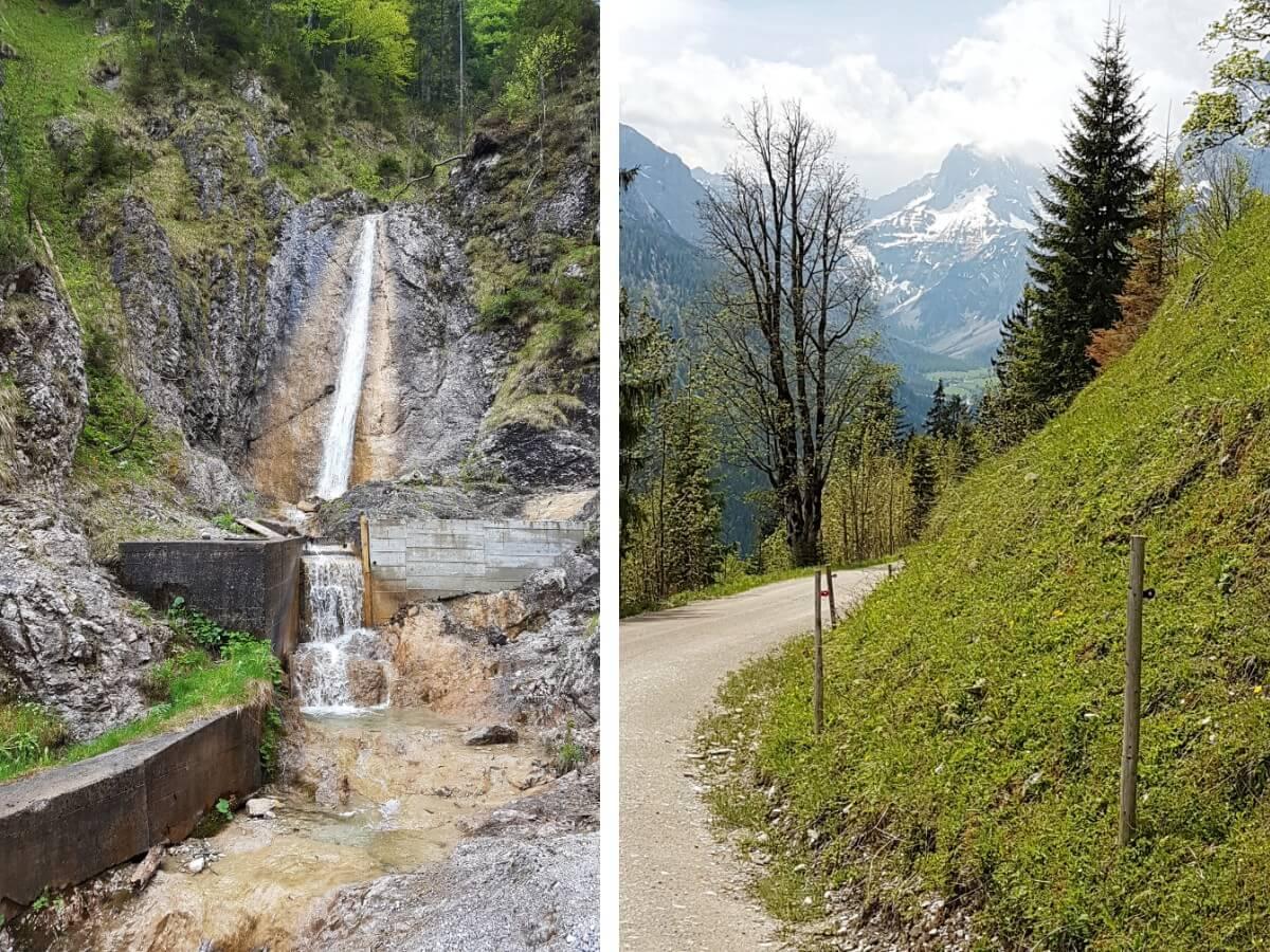 Wasserfall am Weg zur Feilalm