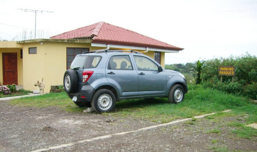 Geländewagen als Mietwagen in Costa Rica
