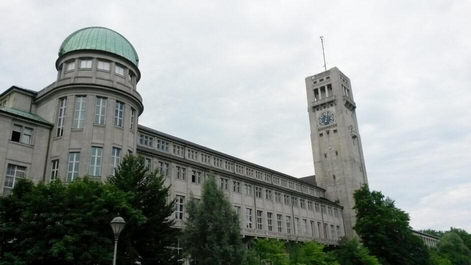Blick auf das Deutsche Museum in München