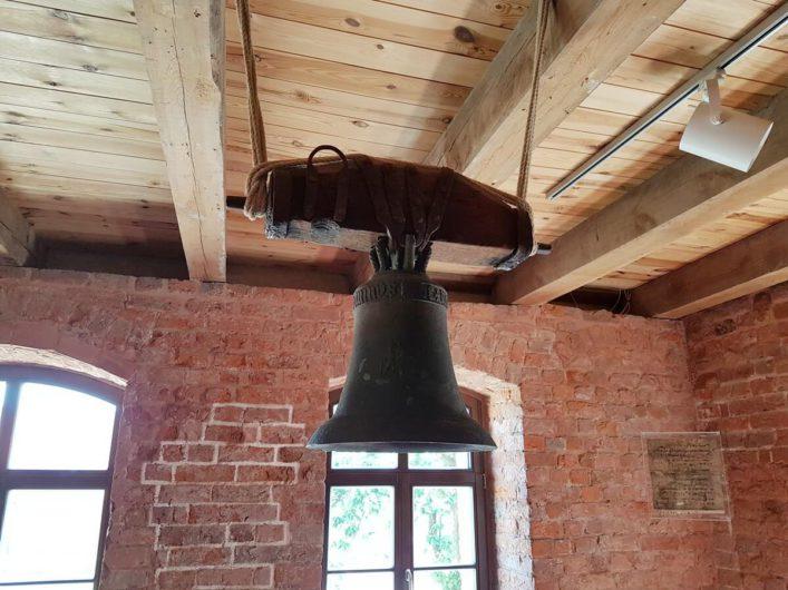 eine Glocke im Kloster Jerichow