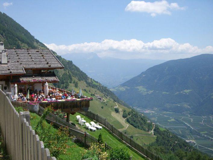 Hofschank Pirchhof am Ende der 1000-Stufen-Schlucht
