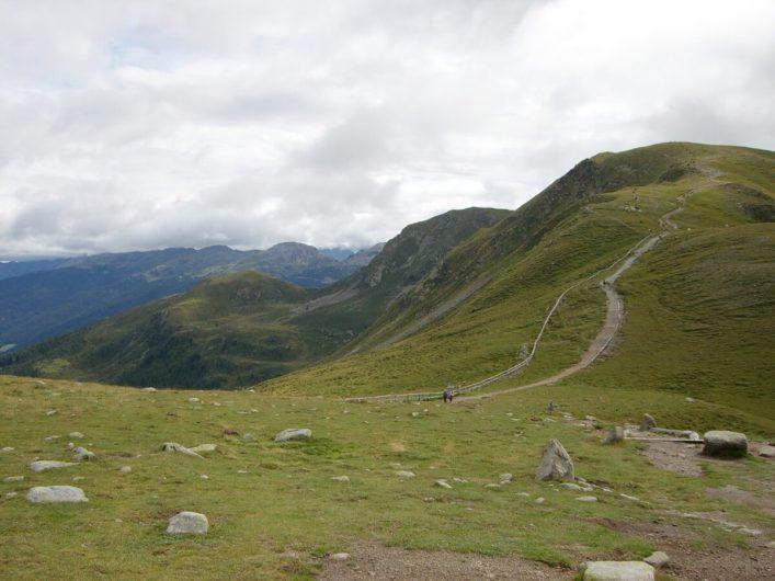 am Missensteinerjoch kurz vor dem Abzweig in Richtung Kratzbergersee