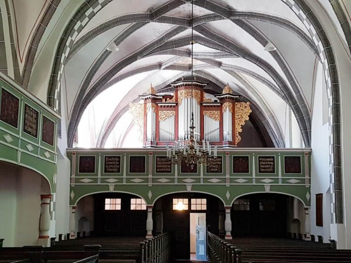 Orgel in der Klosterkirche von Cottbus