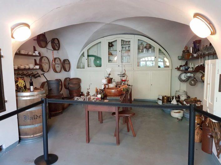 Galenisches Labor im Brandenburgischen Apothekenmuseum in Cottbus