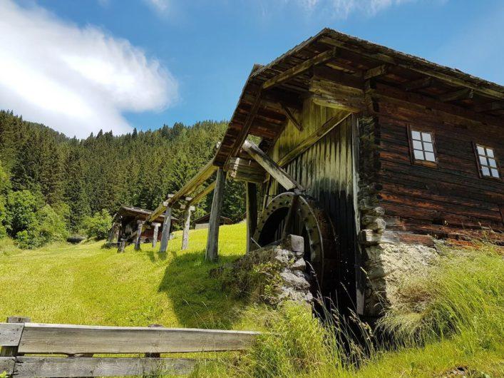 Mühlen am Mühlenweg in Maria Luggau im Lesachtal