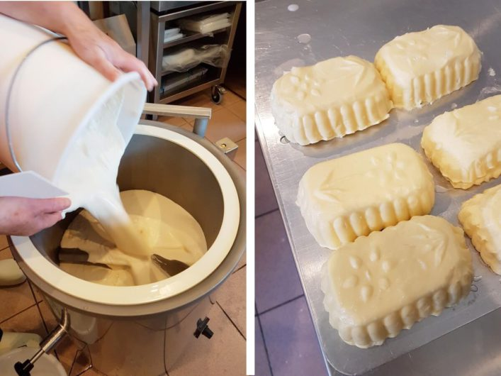 Butter herstellen am Jörgishof im Lesachtal