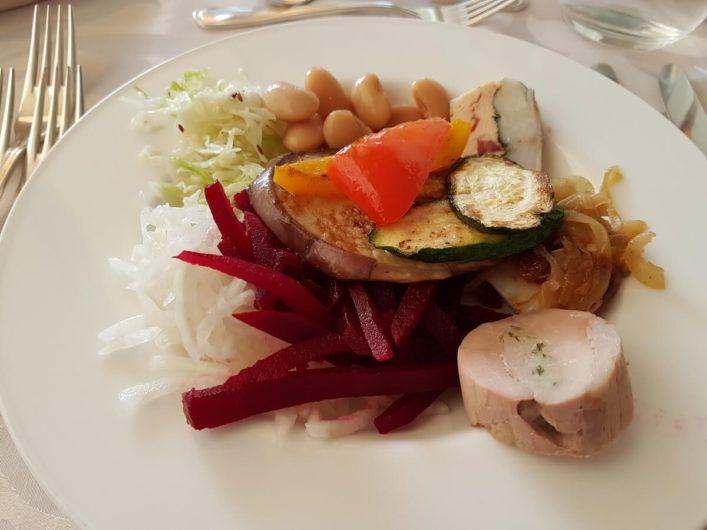 eine Auswahl vom Salatbuffet