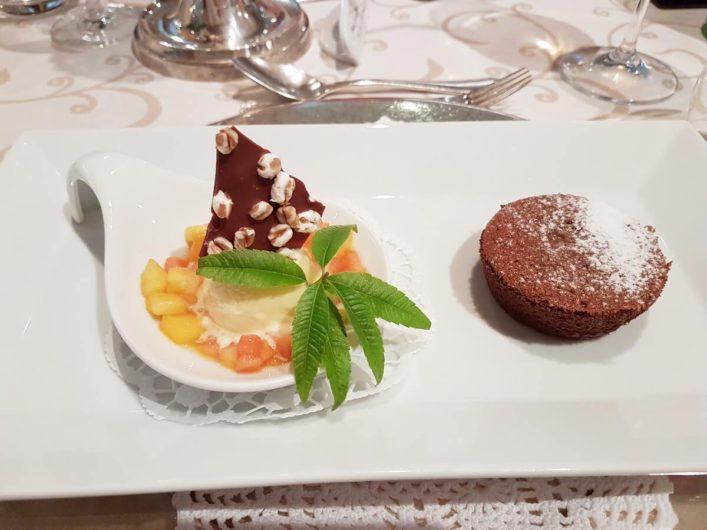 Dessert im Wellnesshotel Sonnbichl