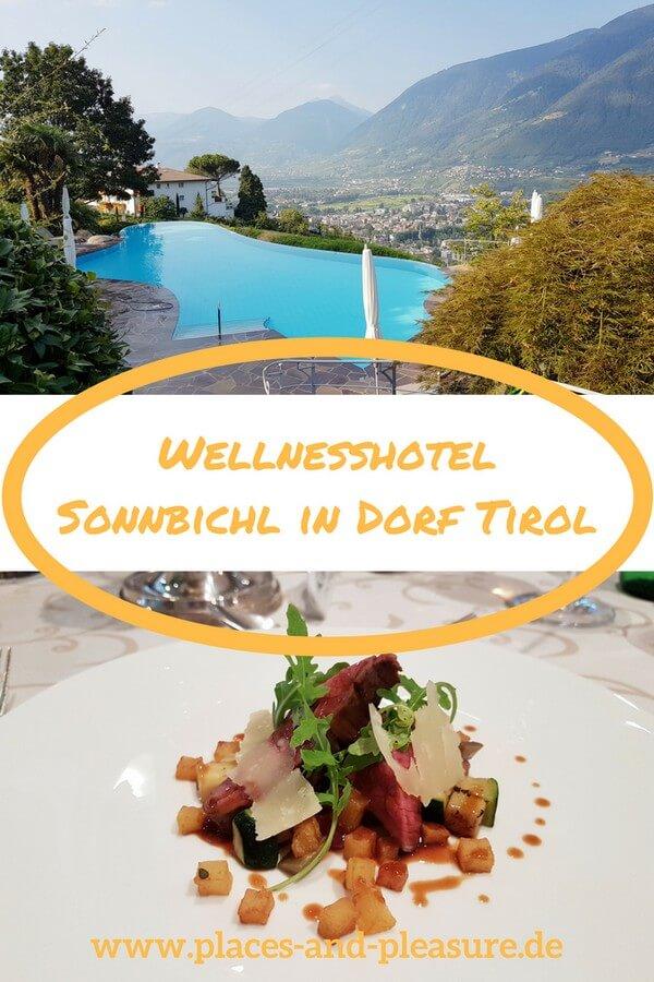 Herrliche Aussicht über das Meraner Land, tolles Ambiente und ein hervorragender Service – das findest du im Wellnesshotel Sonnbichl in Dorf Tirol. Erfahre mehr zu meinem Hoteltipp für Dorf Tirol auf meinem Blog. #DorfTirol #Meranerland #Südtirol #Hoteltipp